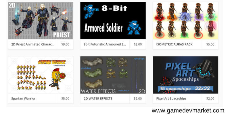Game Art Assets at gamedevmarket image