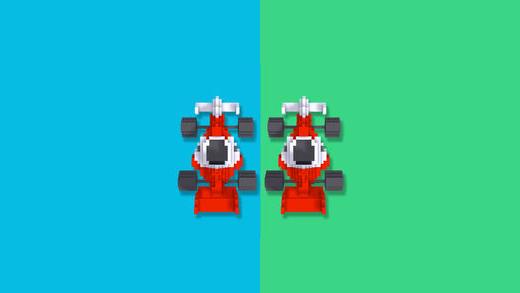 2 lane racers icon