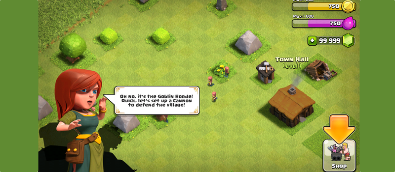 clash of clans tutorial