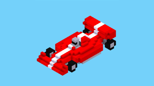 Outlaw Blocky Cars icon
