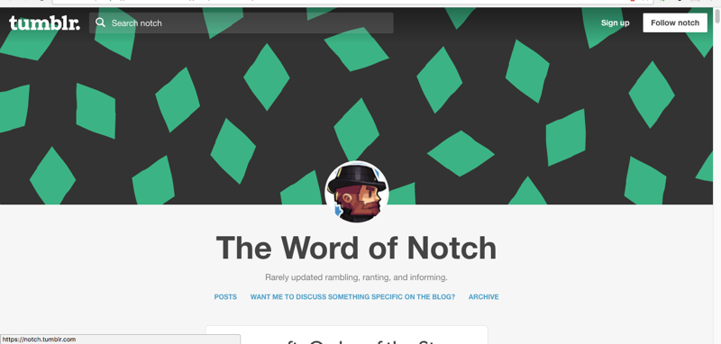 The Word of Notch