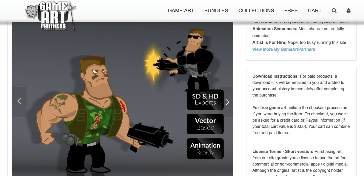 Top 20 Sites for Free Game Art - Buildbox | Game Maker | Video Game
