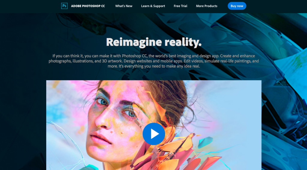 Adobe Photoshop - graphic design software