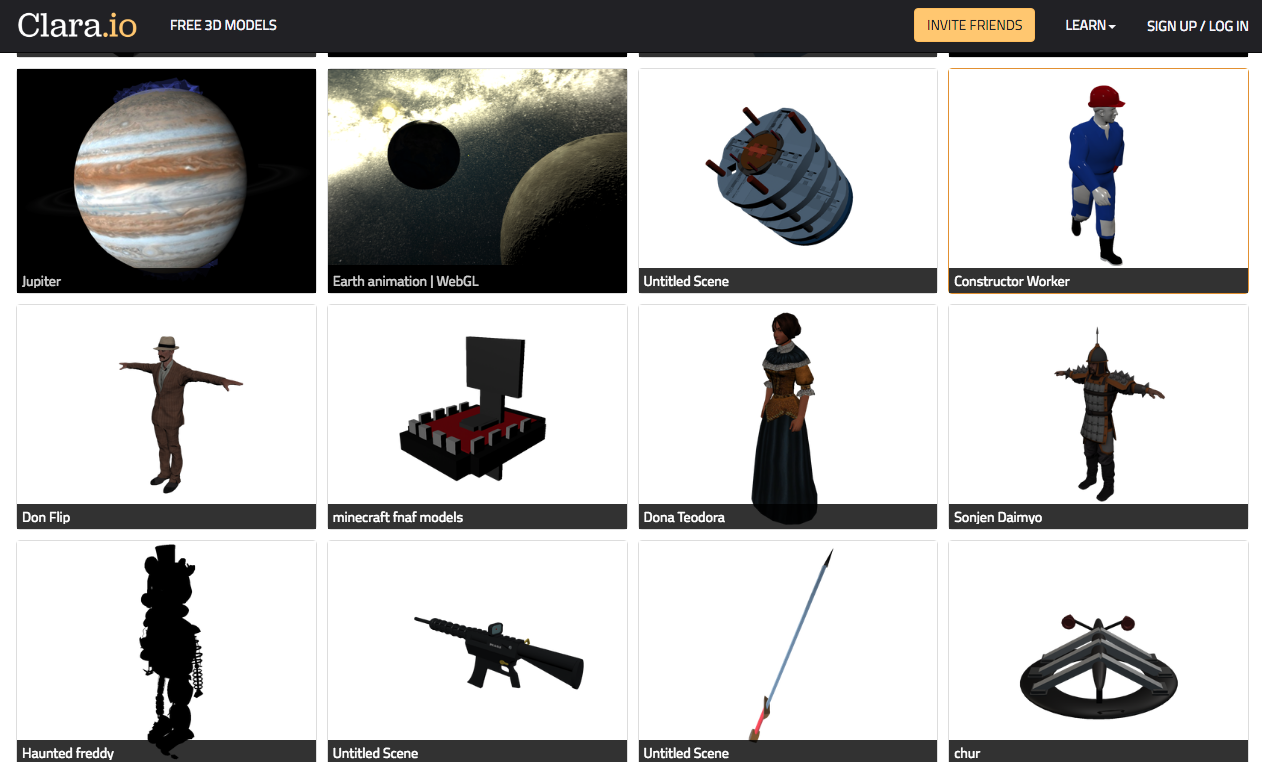 Top 10 Sites For Free 3D Game Art - Buildbox | Game Maker