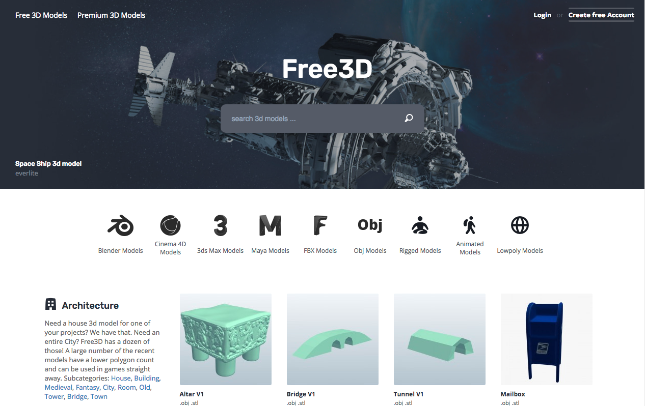 Top 10 Sites For Free 3D Game Art - Buildbox | Game Maker | Video