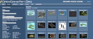 Open Game Art - 3D Game Art
