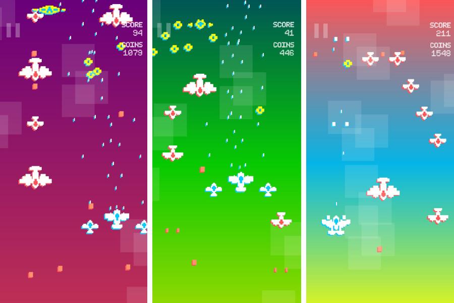 Pixel Scroll Fighter