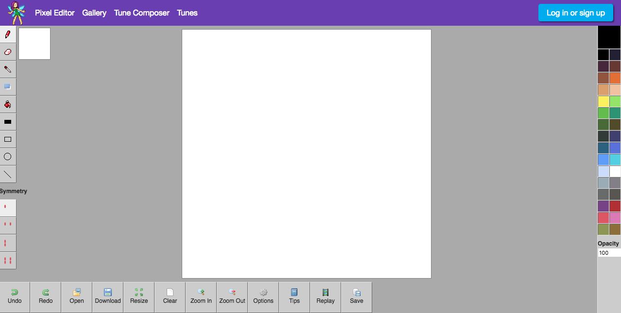 Awesome Pixel Art Editor @KoolGadgetz.com