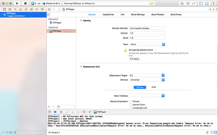 xcode on open