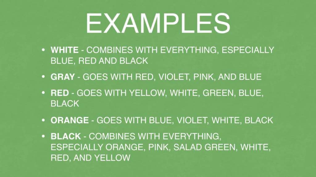 game design color examples