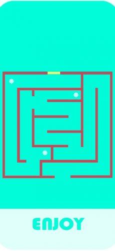 snake in maze 3