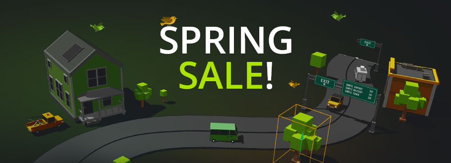 Buildbox Spring Sale Voxelbox