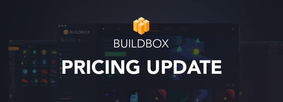 Buildbox Pricing Update